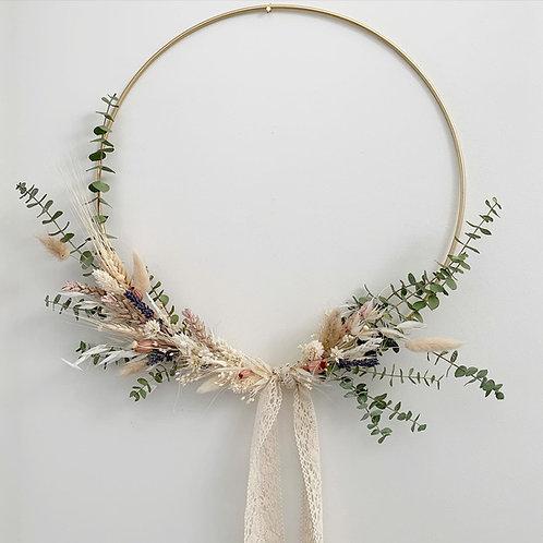 """14"""" Dried Flower Hoop"""