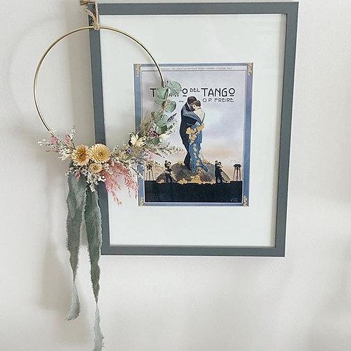 """10"""" Dried Flower Hoops"""