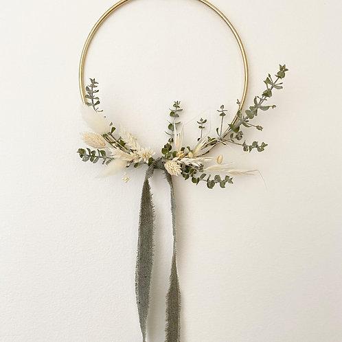"""6"""" Mini Dried Flower Hoop"""