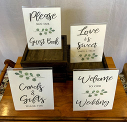 Table top Signage