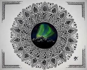 D507 Aurora Mandala