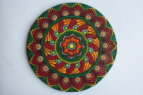 D513  Flower Dot Mandala