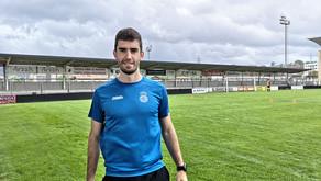 Joseba Amiano se incorpora al staff médico del Real Unión