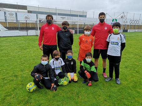 Aprendiendo con Ricardo Costa, entrenador de porteros del Real Unión