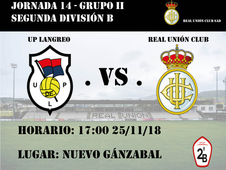 JORNADA 14: UP Langreo - Real Unión Club