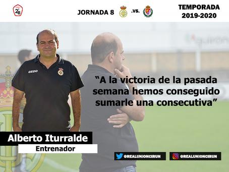 Jornada 8: Rueda de prensa post de Alberto Iturralde