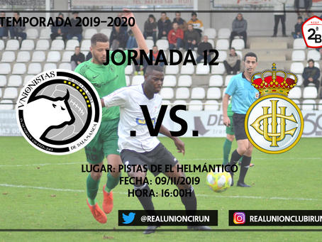 Jornada 12: Unionistas CF - Real Unión Club