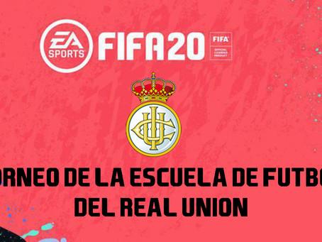 Torneo FIFA 20 de la escuela de fútbol del Real Unión