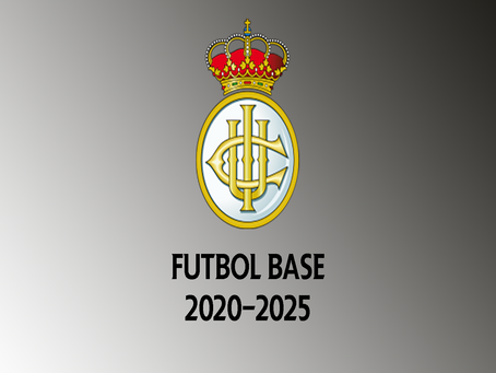 Anticipo de proyecto de fútbol base (2020-2025)