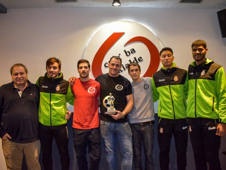El Bar Ekialde y el Real Unión recuperan el Trofeo a la Furia