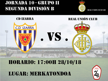 JORNADA 10: CD Izarra - Real Unión Club