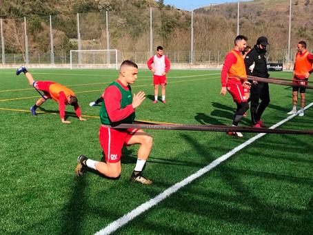Ekhi Bravo se incorpora a los entrenamientos del primer equipo