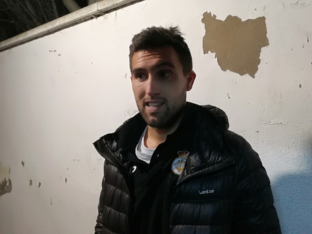 """Juan Domínguez, """"Creo que el equipo ha reaccionado muy bien y ha hecho una segunda parte completa"""""""