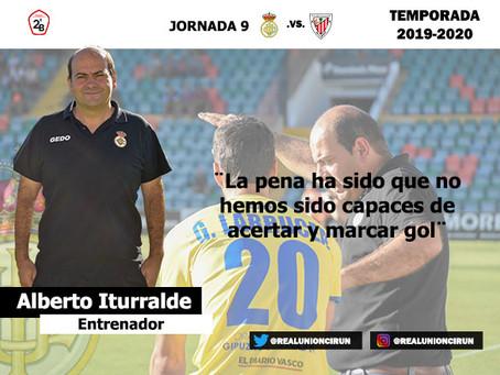Jornada 9: Rueda de prensa post de Alberto Iturralde