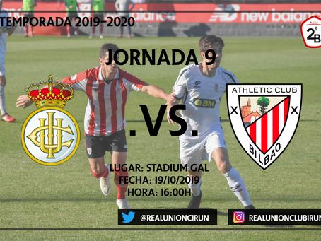 Jornada 9: Real Unión - Bilbao Athletic