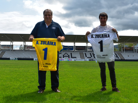 Presentación de Aitor Zulaika, entrenador del Real Unión
