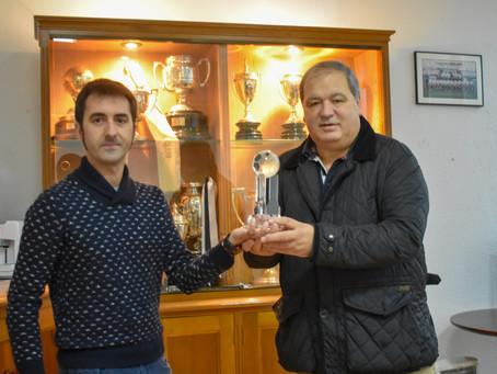 Trofeo de Bidasoa Deportes al máximo goleador del Real Unión