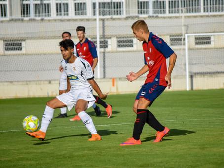Amistoso: Osasuna Promesas 2-1 Real Unión