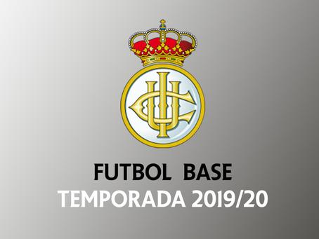 Resumen de la temporada 2019/20 del fútbol base