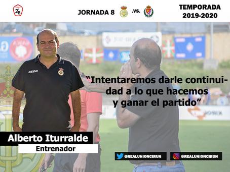 Jornada 8: Rueda de prensa previa de Alberto Iturralde