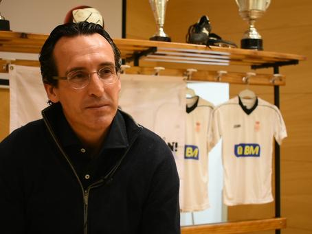 Entrevista de Unai Emery, entrenador de fútbol