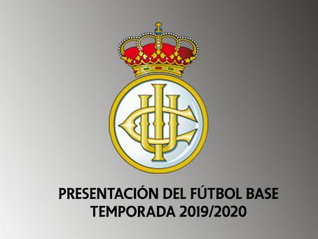Presentación del Fútbol Base 2019