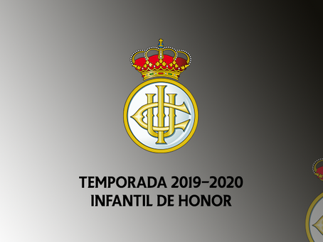 Temporada 2019-2020 del Infantil de Honor