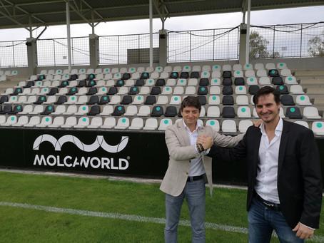 MolcaWorld, nuevo patrocinador del Real Unión