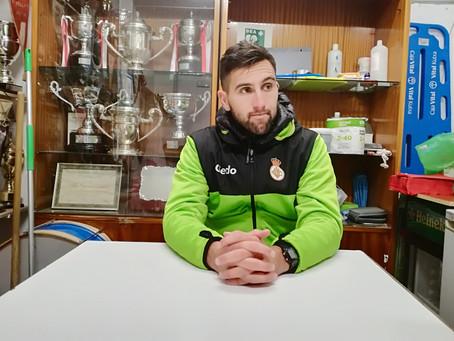"""Juan Domínguez,""""Habíamos entrado bien al partido y el primer gol ha cambiado un poco el contexto"""""""