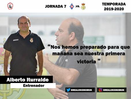 Jornada 7: Rueda de prensa de Alberto Iturralde