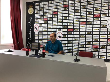 """Alberto Iturralde """"Tengo buenas sensaciones, porque estamos trabajando con calma pero mucho"""""""