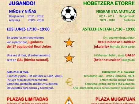 Real Unión Futbol Eskola
