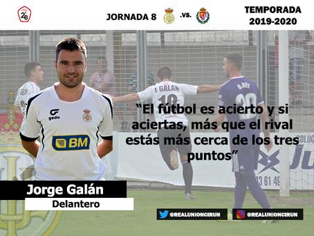 Jornada 8: Declaraciones de Jorge Galán, goleador unionista