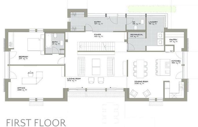 Home Elevation Blueprint