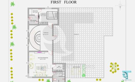 First Floor 2D Elevation