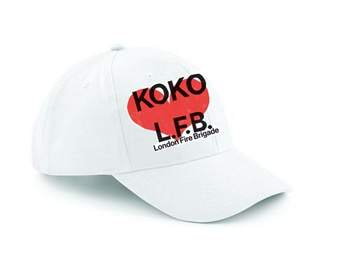 KOKO ❤️ LONDON FIRE BRIGADE CAP
