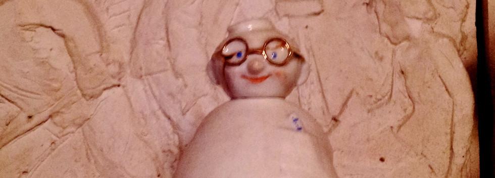 «Айболит»,  А. Дегтярев, Л. Сморгон, 1960, Опытный Завод при Институте Керамики. В массовом производстве не был.