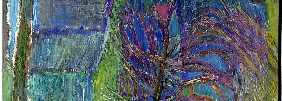 Весна. Сосново. холст, масло 1972