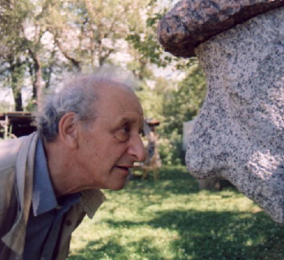 Скульптор и автопортрет