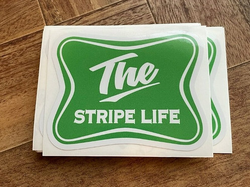 The Stripe Life Sticker