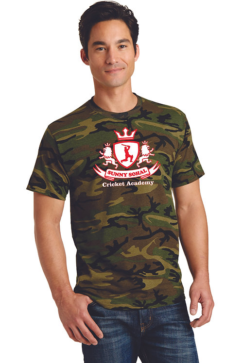 SSCA PC54C  Port & Company® Core Cotton Camo Tee