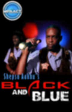 Poster Black and Blue