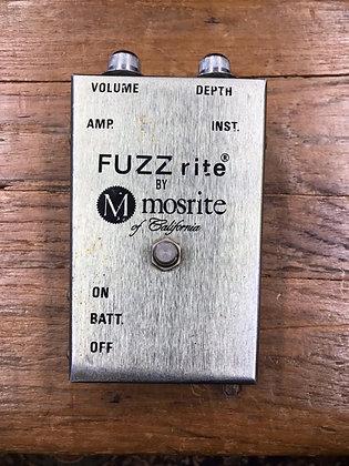 MOSRITE    FUZZRITE (vintage)