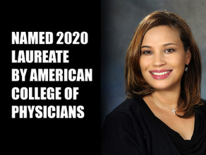 Dr. LeChauncy Woodard Named Laureate by American College of Physicians