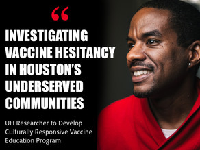 Investigating Vaccine Hesitancy in Houston's Underserved Communities