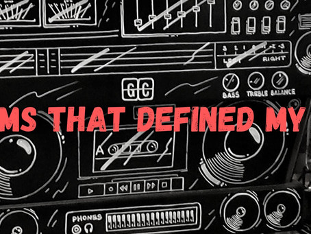 30 albums that defined my DECADE