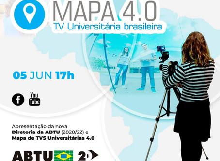 Lançamento do Mapa 4.0 da Tv Universitária brasileira