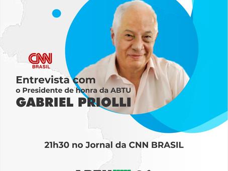 Presidente de honra da ABTU comenta atuação da CNN Brasil