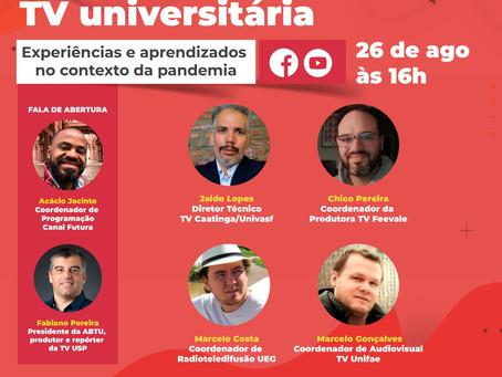 ABTU e Futura realizam 4º encontro virtual sobre TVUs e a pandemia