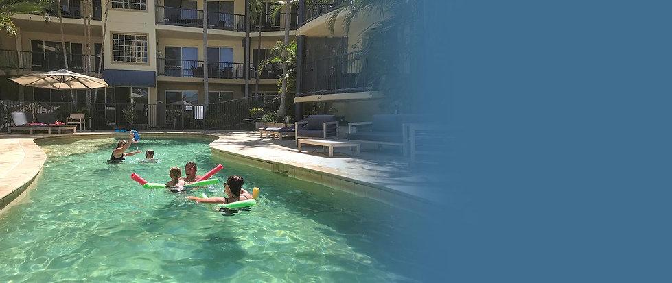 Beachside Heated Pool Beachside Holiday Apartments